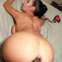 Plan baise anale avec un gros cul de brésilienne